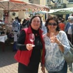 Axbridge Somerset Showcase 2011 - Two Happy Tasters