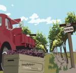 Postacard Lorry