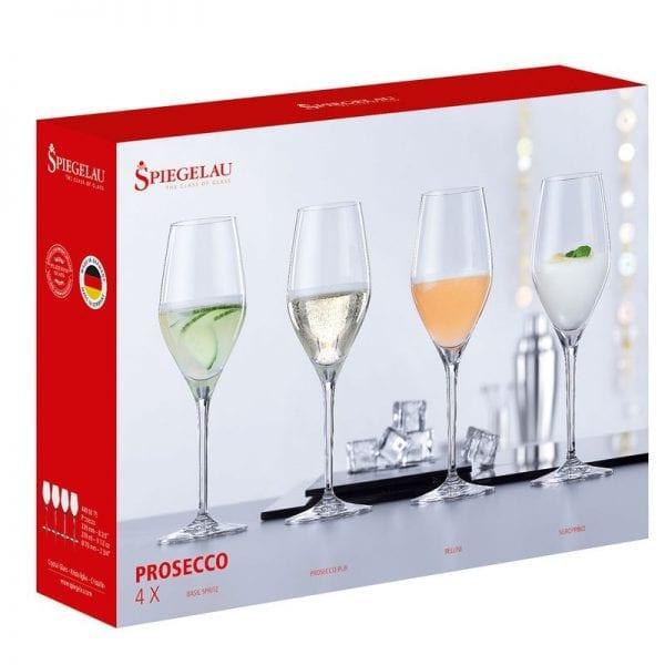 Spiegelau - Prosecco x 4 Glasses