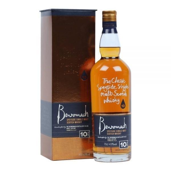 Benromach 10 Year Old Speyside Single Malt Scotch Whisky
