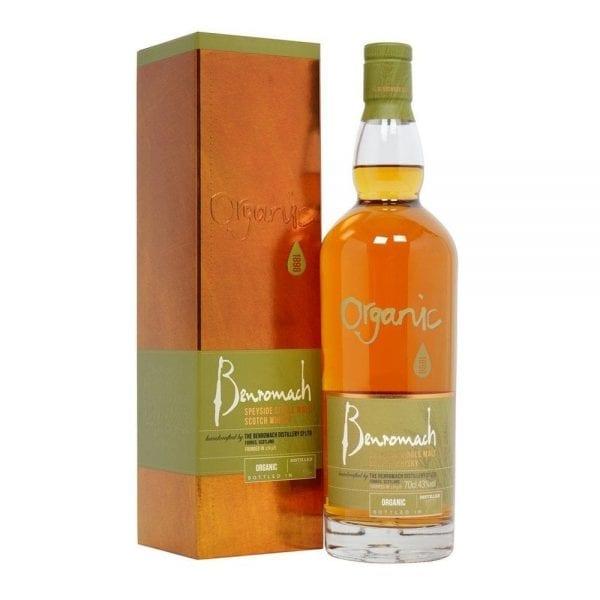 Benromach Organic Speyside Single Malt Scotch Whisky