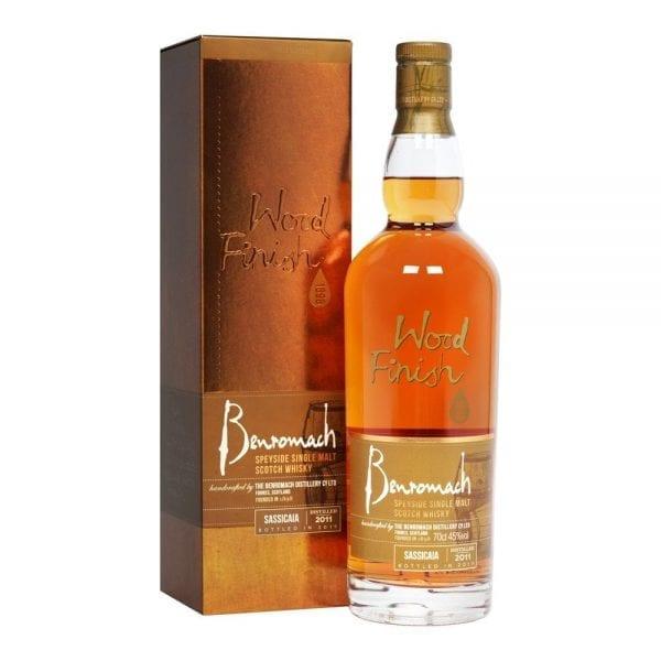 Benromach Sassicaia Wood Finish 2011 Speyside Single Malt Scotch Whisky