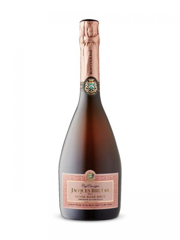 Jacques Bruere Cuvee Brut Rose 11.5% - 75cl