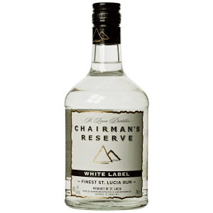 Chairman's Reserve White Label St Lucia Rum 40% – 70cl