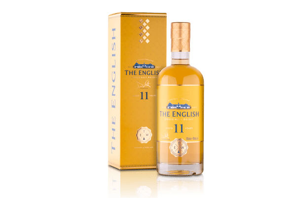 The English Aged 11 Years Single Malt Whisky 46% Vol - 70cl