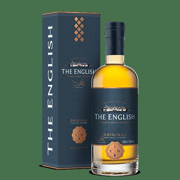 The English Original Single Malt Whisky 43% Vol - 70cl